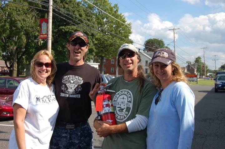 Linda, Pete, Mark & Laurie